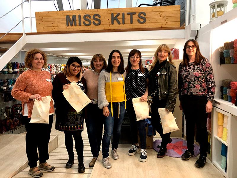 Primera Knit Up de CASASOL en MISS KITS – Barcelona