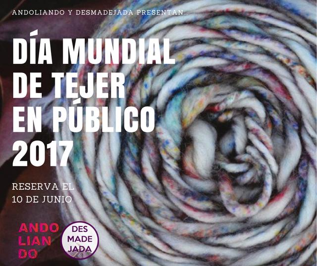Día Mundial de Tejer en Público en Sevilla 2017