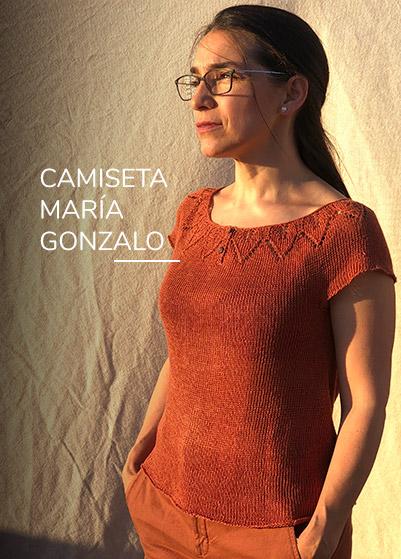 Camiseta María Gonzalo