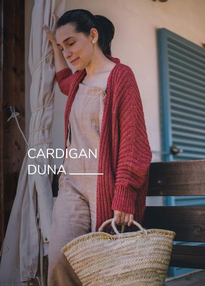 Patrón Cardigan Duna